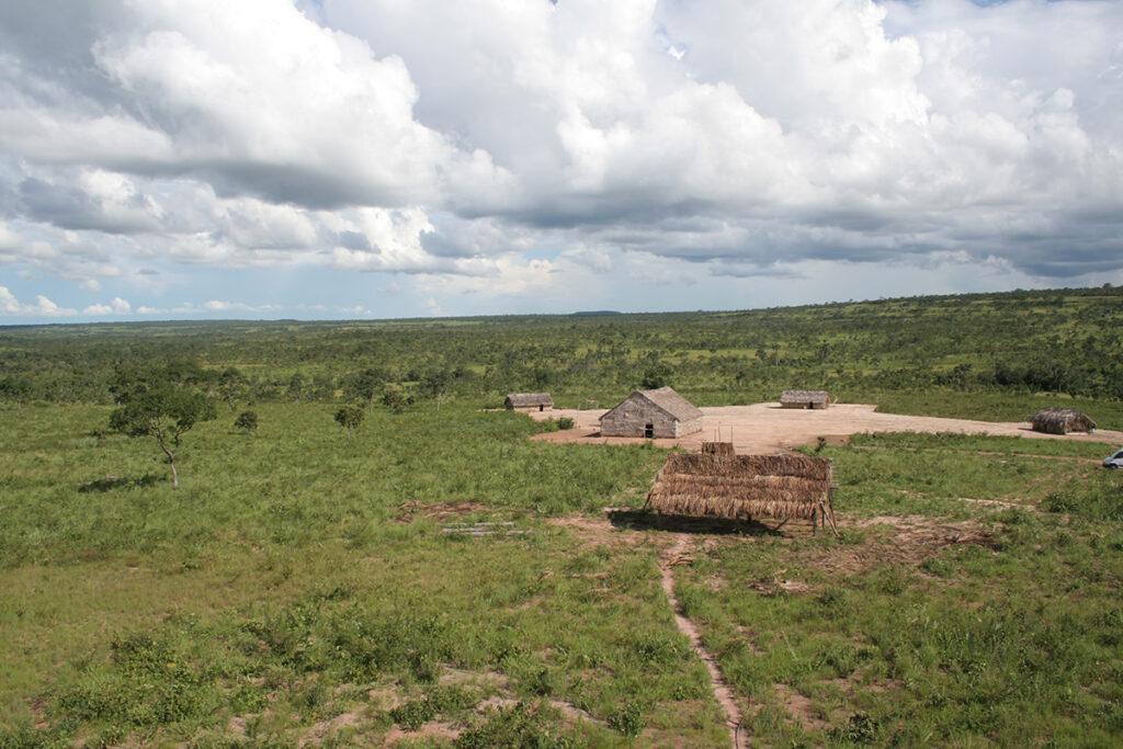 Quelques jours plus tard, ils nous ont envoyé une caisse de vêtements qu'ils ont peints après notre départ. Les motifs qu'ils peignent avec les poinçons du palmier Buriti et les plantes du Cerrado restituent la beauté et la diversité gardées en mémoire. Des pièces uniques, art d'un peuple qui se réinvente.